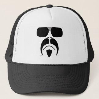 iRideの口ひげのターミネーターのサングラスの帽子 キャップ