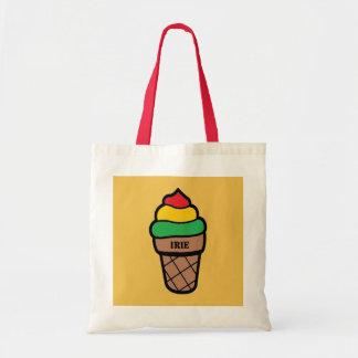 Irieのアイスクリームのトートバック トートバッグ
