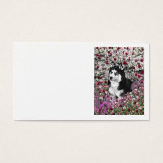 Irie花のシベリアンハスキー 名刺