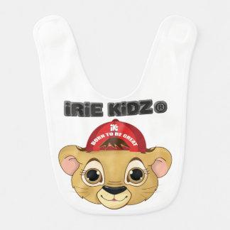 IRIE KIDZ 「レオライオンの子」のベビー用ビブ ベビービブ