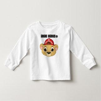 IRIE KIDZ 「レオライオンの子」の幼児のTシャツ トドラーTシャツ