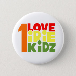 IRIE KIDZ -愛Irie 1つのKidzボタン 缶バッジ