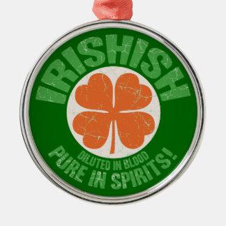 Irishish メタルオーナメント