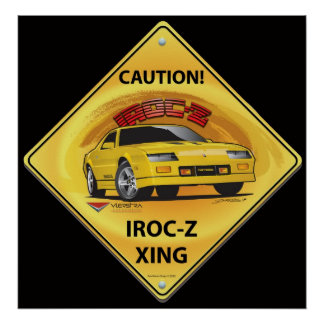IROC84-2Black ポスター