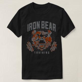 IronBearの訓練の標準のTシャツ Tシャツ