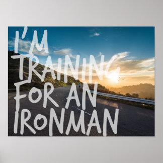 Ironmanの訓練のインスピレーションポスター ポスター
