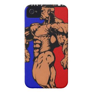 Ironpinoyのブラックベリーの箱 Case-Mate iPhone 4 ケース