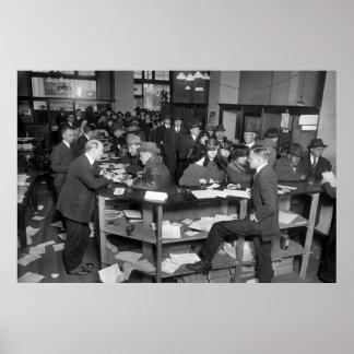 IRSのオフィス、1920年4月15日 ポスター
