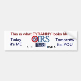 IRSのスキャンダル2013年 バンパーステッカー