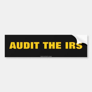 IRSの自由のbumberのステッカーを監査して下さい バンパーステッカー