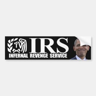 IRSの非道の復讐サービス-反オバマ バンパーステッカー