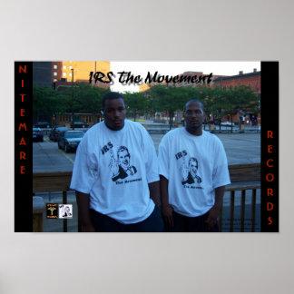 IRS動き17 x 11ポスター ポスター