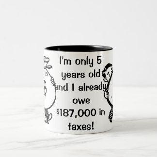 IRS ツートーンマグカップ