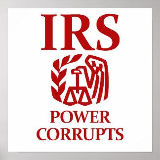 IRS: 力は買収します ポスター