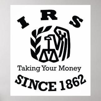 IRS -国税庁 ポスター