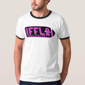 Irvingtonの秋のサッカー連盟-乳癌 Tシャツ