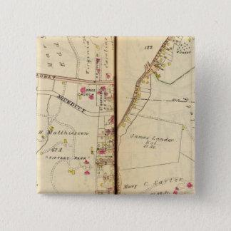 Irvington、ニューヨーク 5.1cm 正方形バッジ