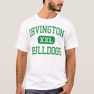 Irvington -ブルドッグ-高Irvingtonニューヨーク Tシャツ