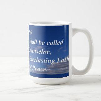 Isa. 9:11 コーヒーマグカップ