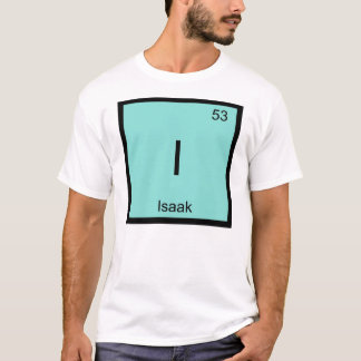 Isaak一流化学要素の周期表 Tシャツ