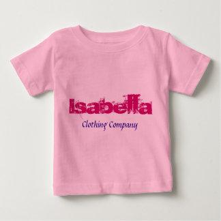 Isabella Name Clothing Companyのベビーのワイシャツ ベビーTシャツ