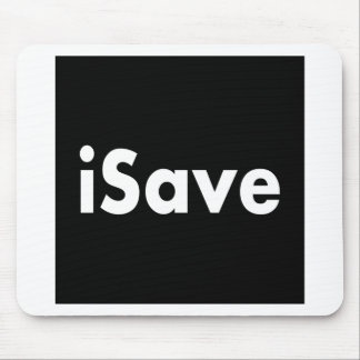 iSave マウスパッド