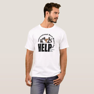 ISBDのロゴ Tシャツ