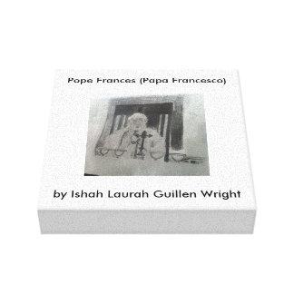 Ishah Laurah Guillenライト著Canvas法皇 キャンバスプリント
