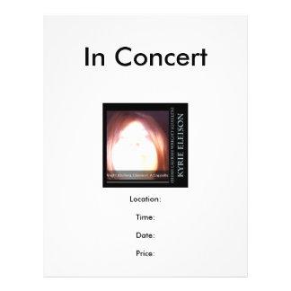 Ishah Laurah Guillenライト: Kyrie Eleisonコンサート チラシ