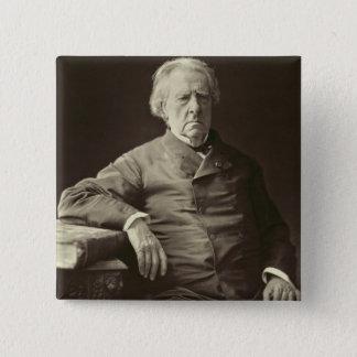 IsidoreジャスティンSeverinテイラー(1789-1879年)、f男爵 5.1cm 正方形バッジ
