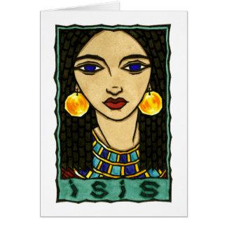Isisの挨拶状 カード