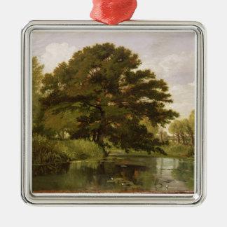 Isis、Waterperry、オックスフォードシャー1806年(油 メタルオーナメント