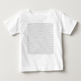 islamic-pattern ベビーTシャツ