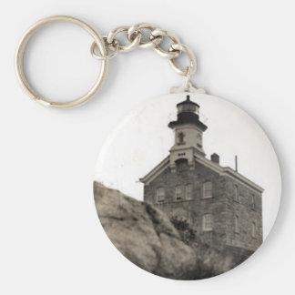 Island Lighthouseすばらしい大尉 キーホルダー