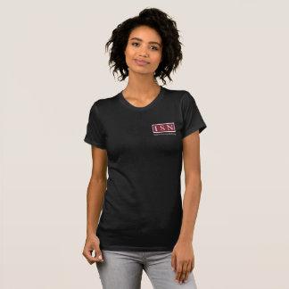 ISNのアフターサービスの仲介手数料の女性のTシャツ Tシャツ