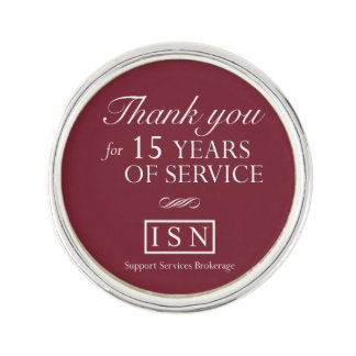 ISNのアフターサービスの仲介手数料15年のラペルピン ラペルピン