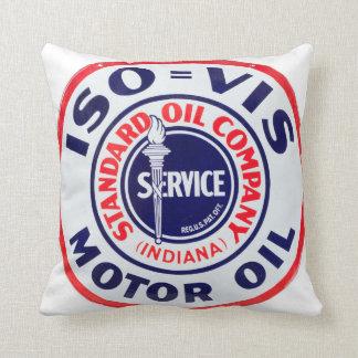 ISOの潤滑油のヴィンテージの印の枕 クッション