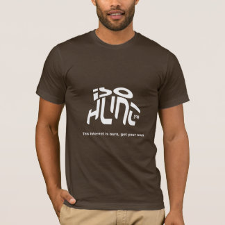 isoHuntの叫び! Tシャツ