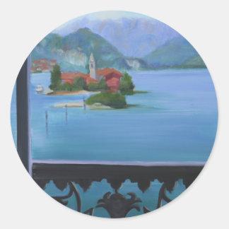 Isola Bellaのバルコニー ラウンドシール