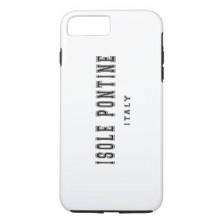 Isole Pontineイタリア iPhone 8 Plus/7 Plusケース