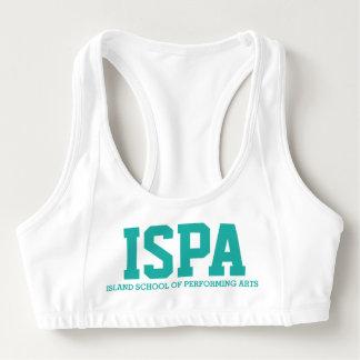 ISPAのダンスの上 スポーツブラ