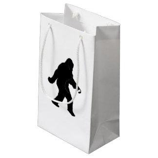 iSquatch (背景色をカスタマイズ) スモールペーパーバッグ