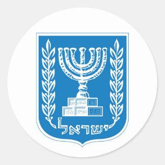 israel_armoiriesの紋章付き外衣 ラウンドシール