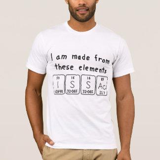 Issacの周期表の名前のワイシャツ Tシャツ