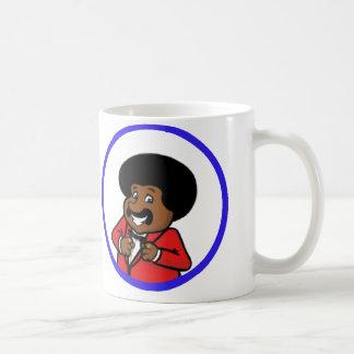 Issacは何をしますか。 コーヒーマグカップ