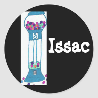 Issac、gumballの魔法使い ラウンドシール