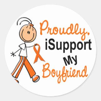 iSupport 1 SFTの白血病MSの腎臓の蟹座のボーイフレンド ラウンドシール