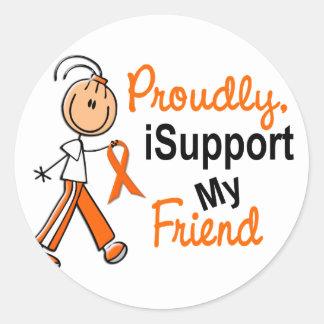 iSupport 1 SFTの白血病MSの腎臓の蟹座の友人 ラウンドシール