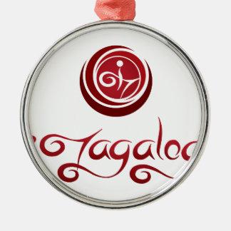 iTagalog メタルオーナメント