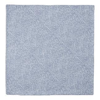 Itajime Shiboriの青い点検の織物の幾何学的な織り方 掛け布団カバー